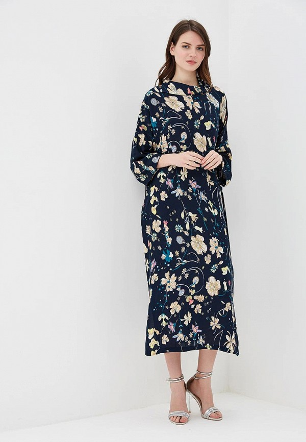 Купить Платье Adzhedo, Adzhedo AD016EWBMEJ7, синий, Весна-лето 2018