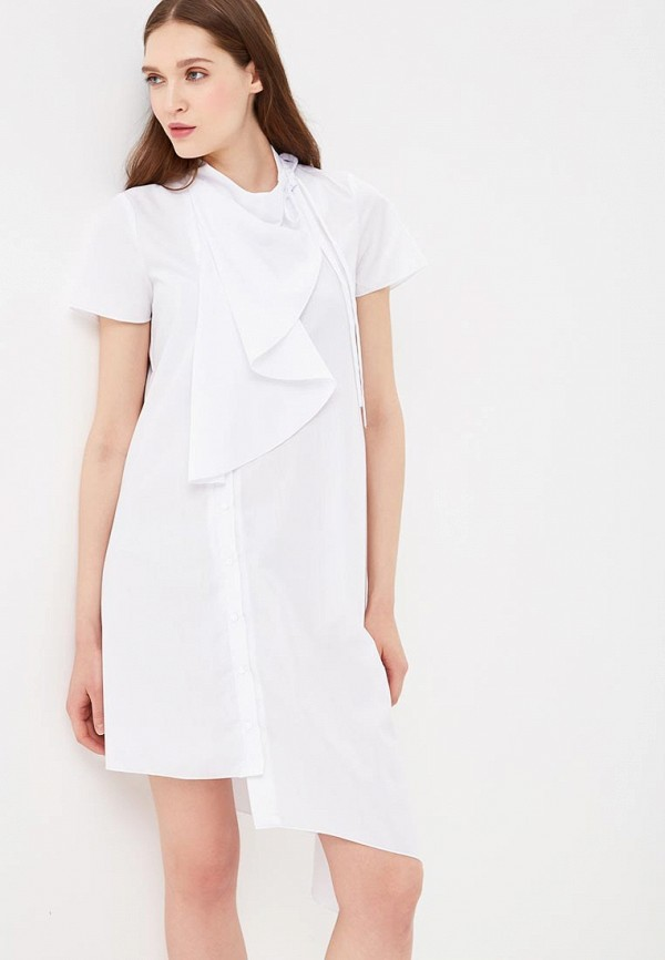 женское платье adzhedo, белое