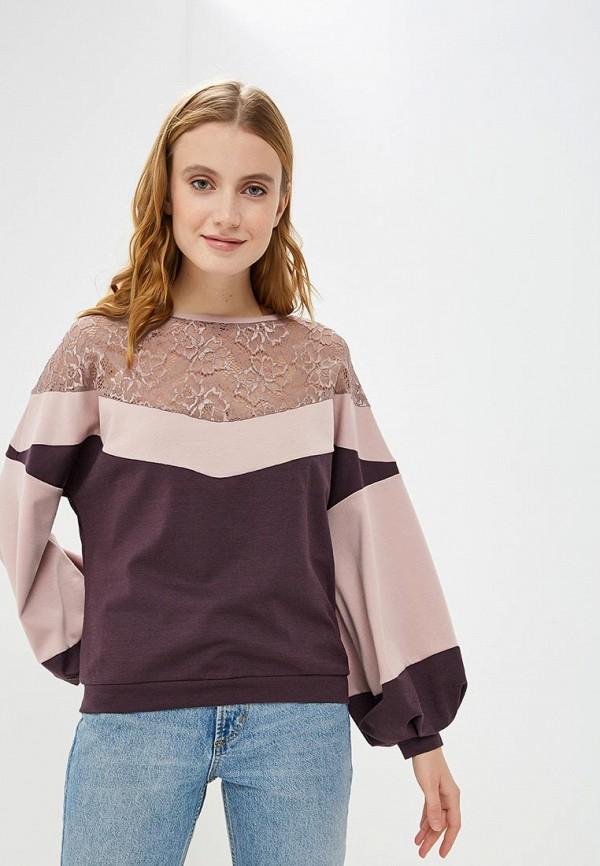 женская блузка adzhedo, фиолетовая