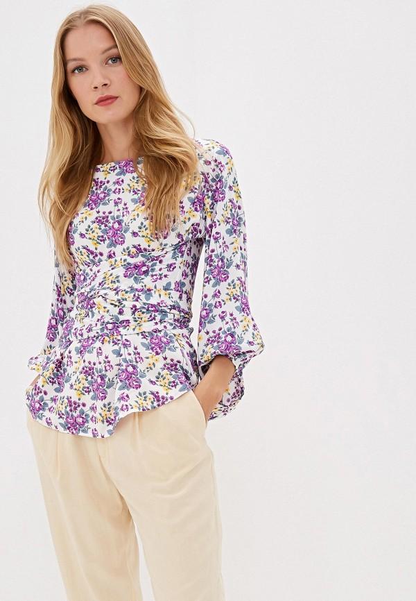 женская блузка adzhedo, разноцветная