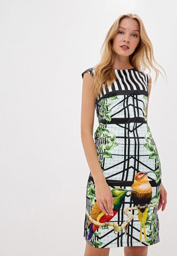 женское платье adzhedo, разноцветное