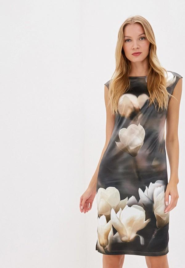 женское платье adzhedo, хаки