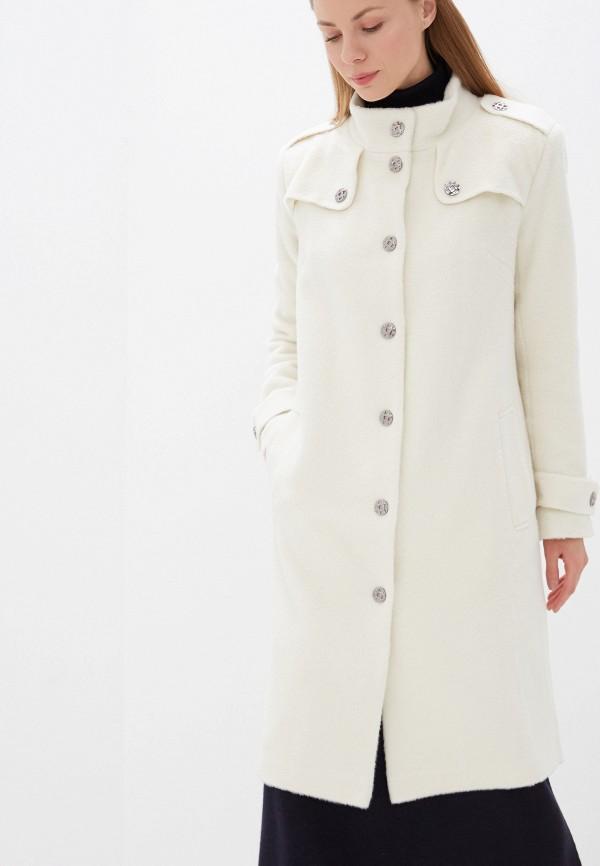 женское пальто adzhedo, белое