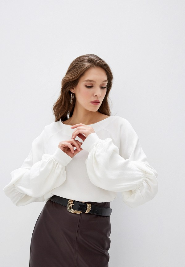 женская блузка adzhedo, белая