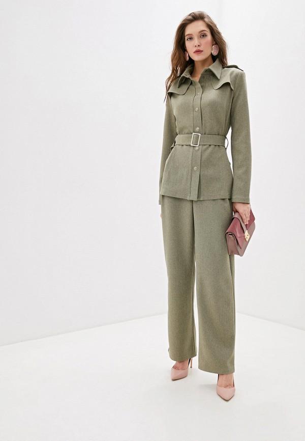 женский классические костюм adzhedo, зеленый