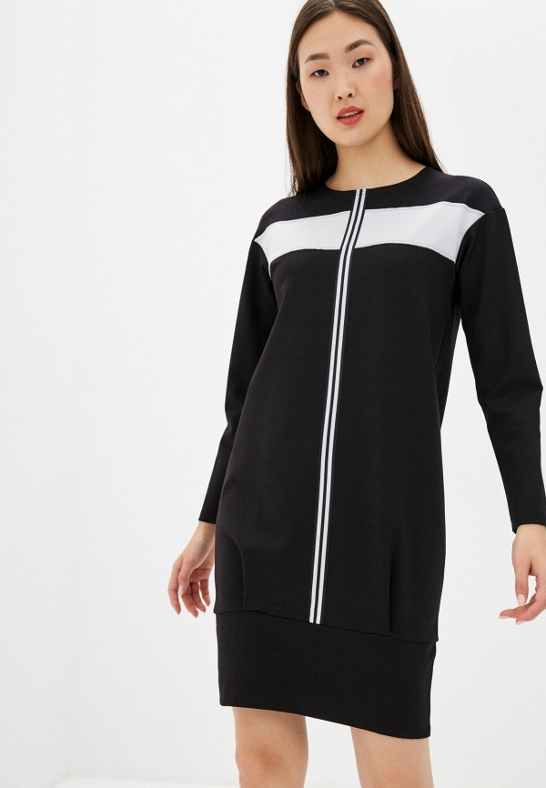 женское платье adzhedo, черное