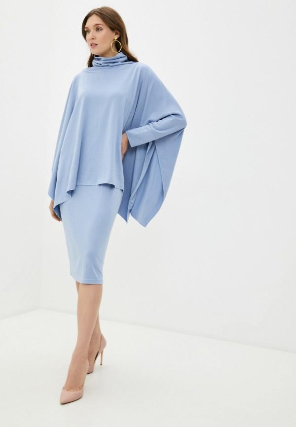 женский костюм adzhedo, голубой