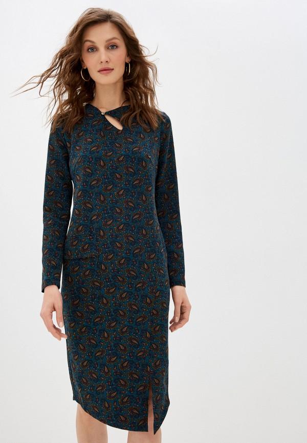 женское платье-футляр adzhedo, зеленое