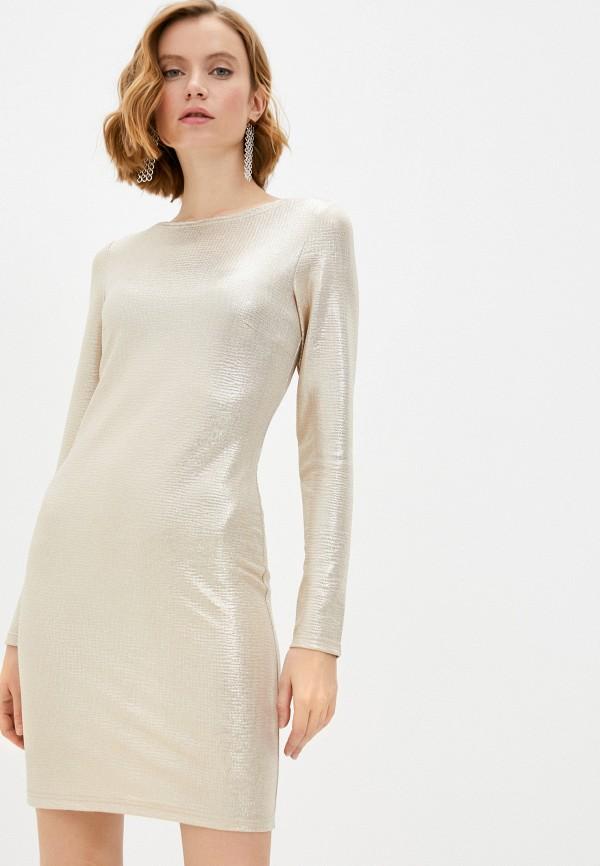 женское вечерние платье adzhedo, золотое