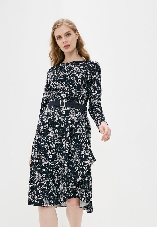 женское повседневные платье adzhedo, синее