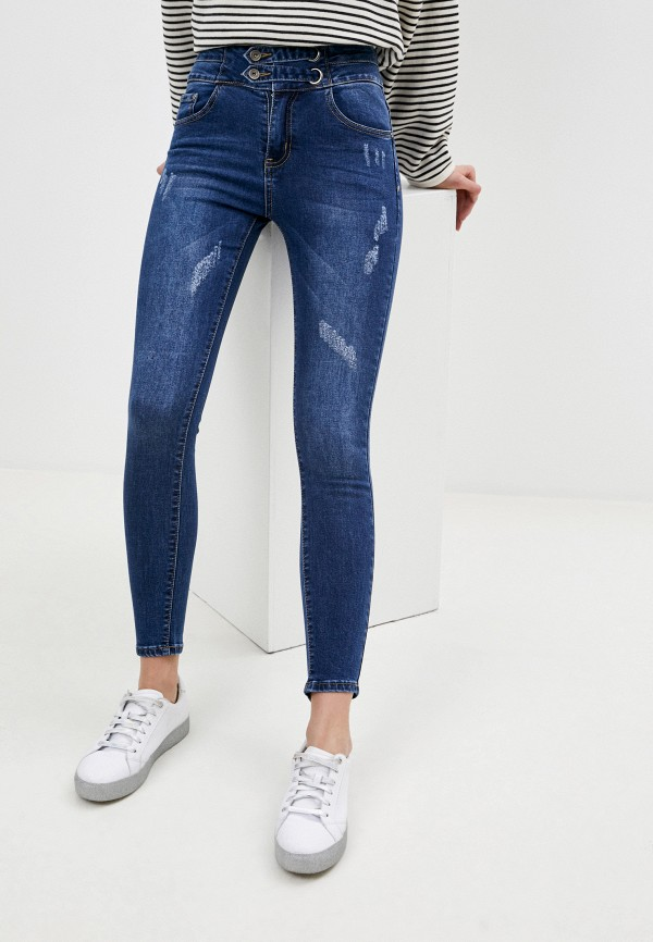 женские джинсы adrixx, синие