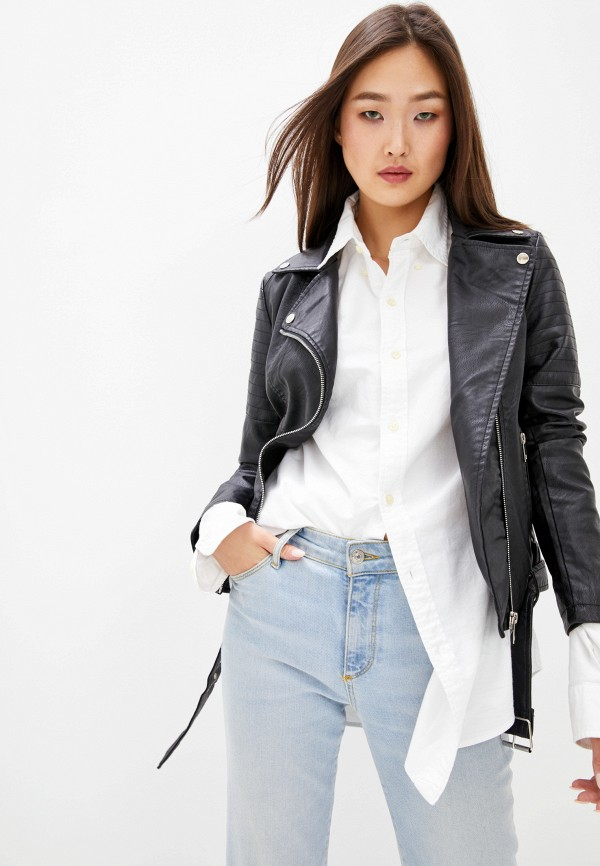 Куртка кожаная Adrixx Adrixx NR09-GSP7970 черный фото