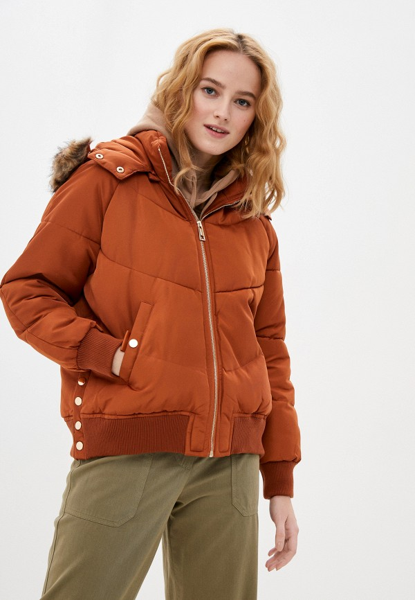 Куртка утепленная Adrixx Adrixx NR09-LC2017 коричневый фото