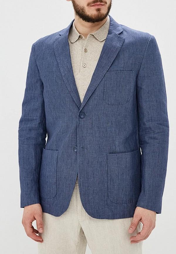 мужской пиджак adolfo dominguez, синий
