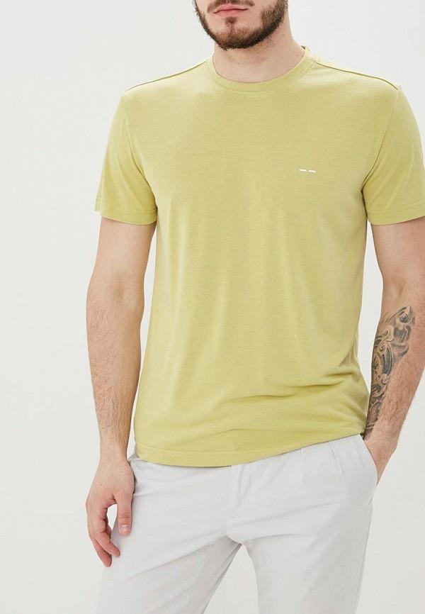 мужская футболка с коротким рукавом adolfo dominguez, зеленая