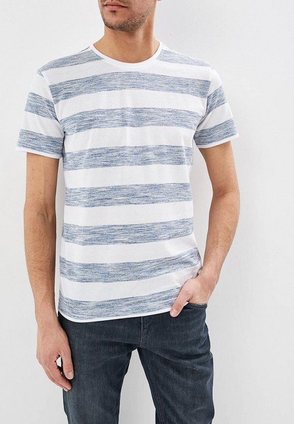 мужская футболка с коротким рукавом adolfo dominguez, голубая