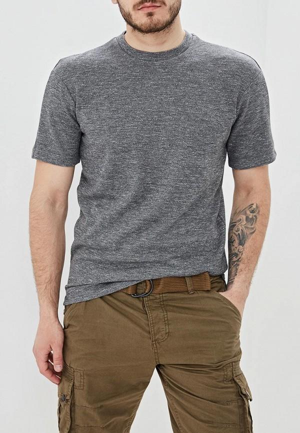 мужская футболка с коротким рукавом adolfo dominguez, серая