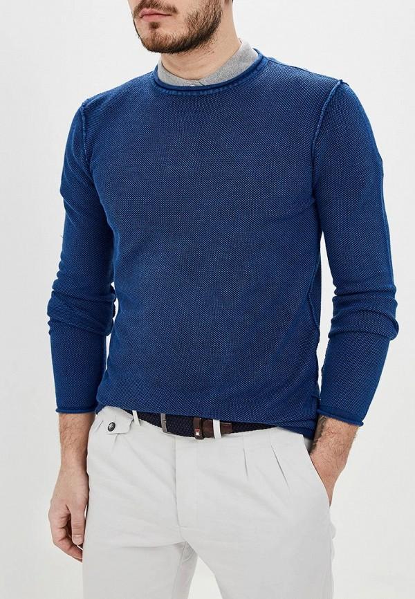 мужской джемпер adolfo dominguez, синий