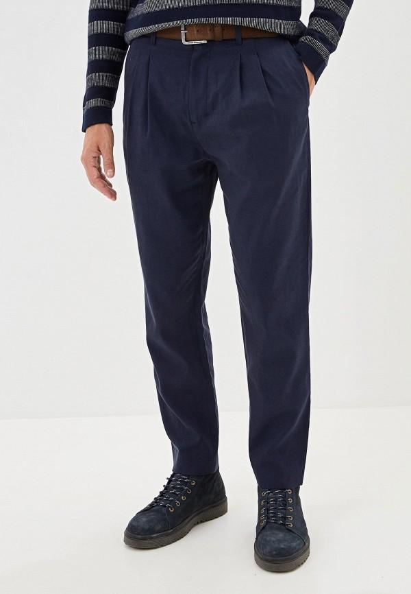 мужские повседневные брюки adolfo dominguez, синие