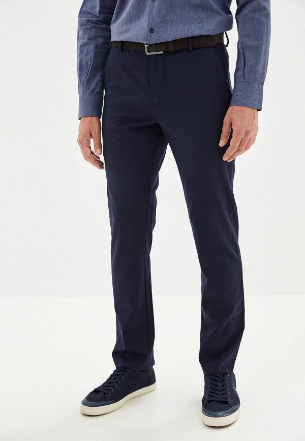 мужские классические брюки adolfo dominguez, синие