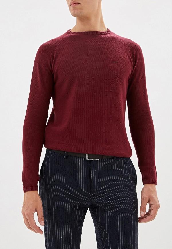 мужской джемпер adolfo dominguez, бордовый