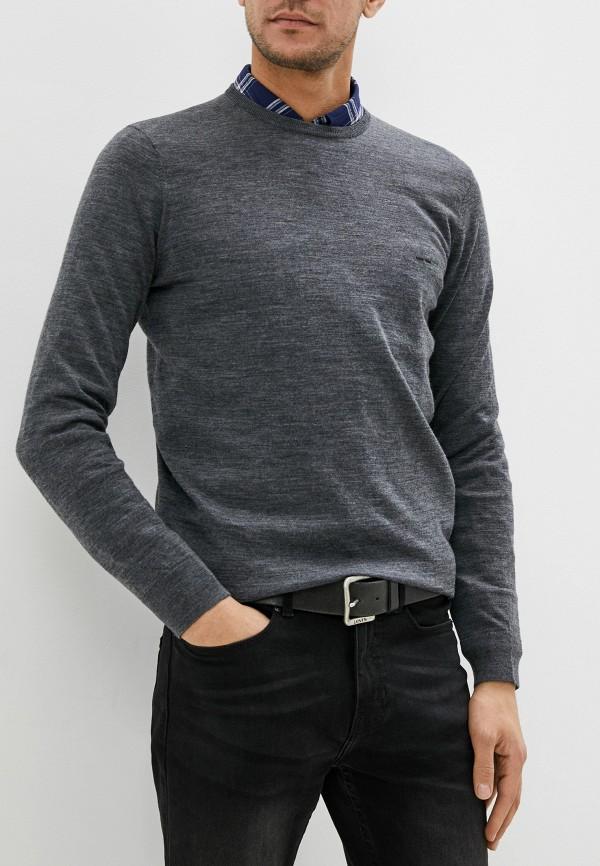 мужской джемпер adolfo dominguez, серый