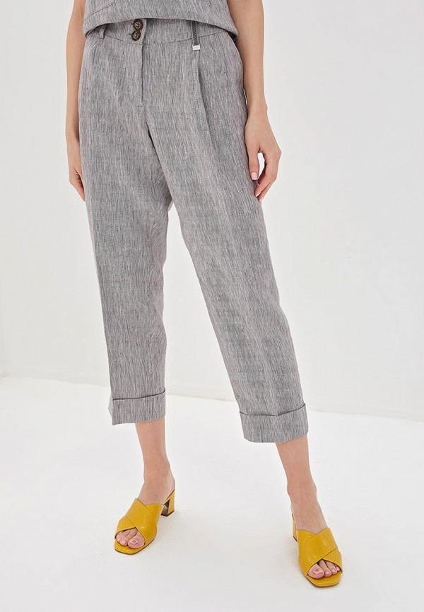 женские повседневные брюки adolfo dominguez, серые