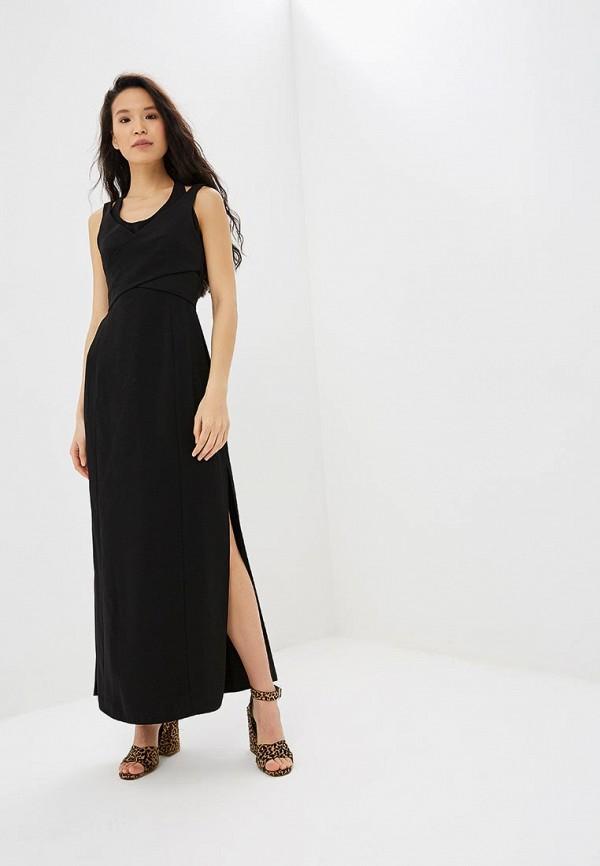 женское вечерние платье adolfo dominguez, черное