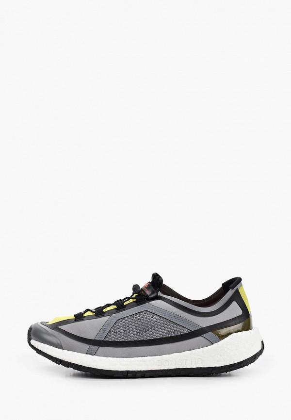 женские кроссовки adidas by stella mccartney, серые