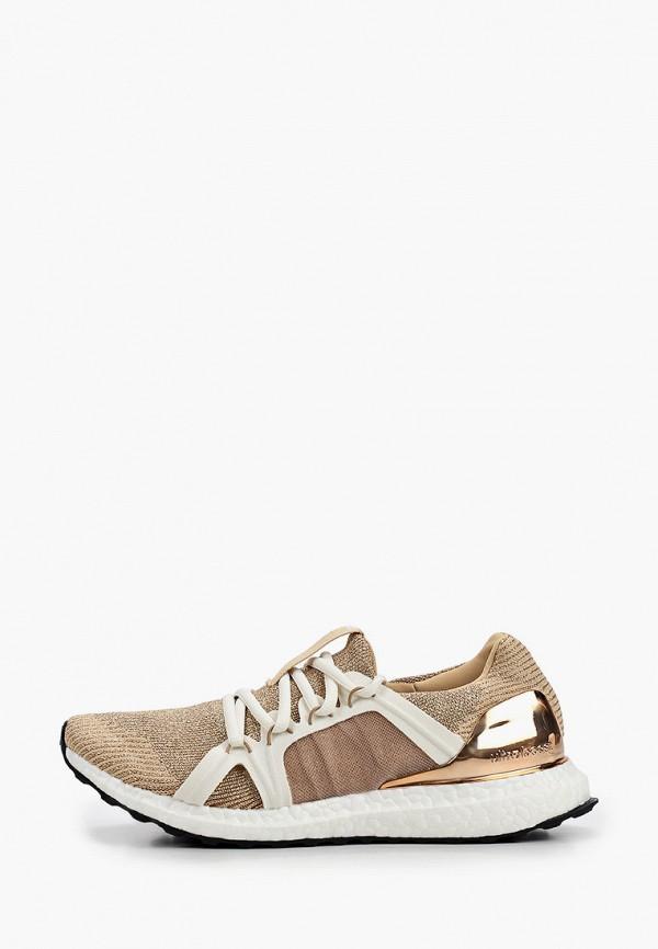 женские кроссовки adidas by stella mccartney, бежевые