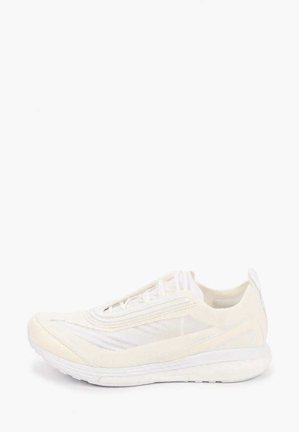 женские кроссовки adidas by stella mccartney, белые