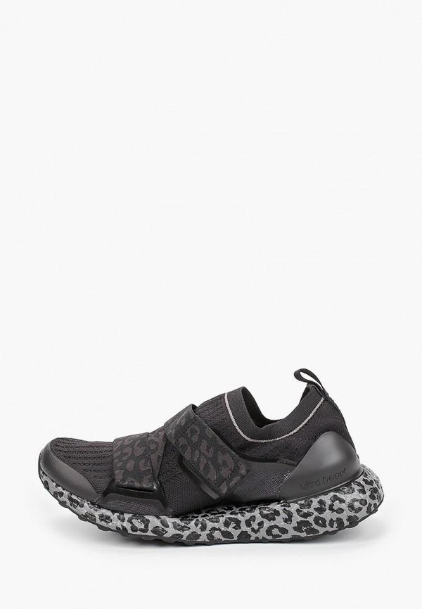 женские кроссовки adidas by stella mccartney, черные