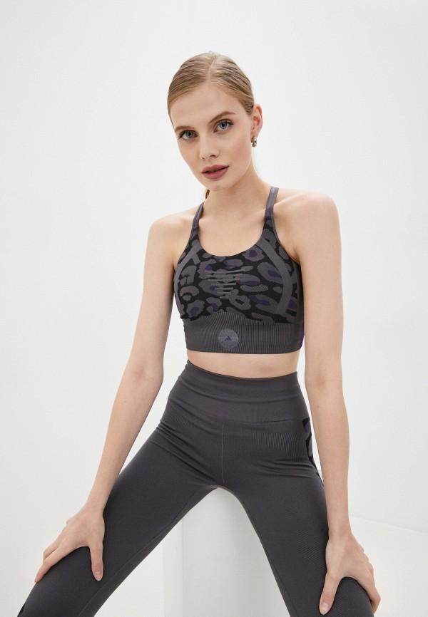 женский спортивный костюм adidas by stella mccartney, серый