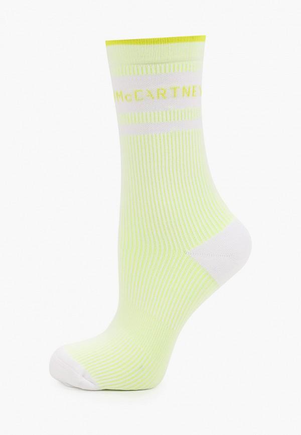 женские носки adidas by stella mccartney, желтые