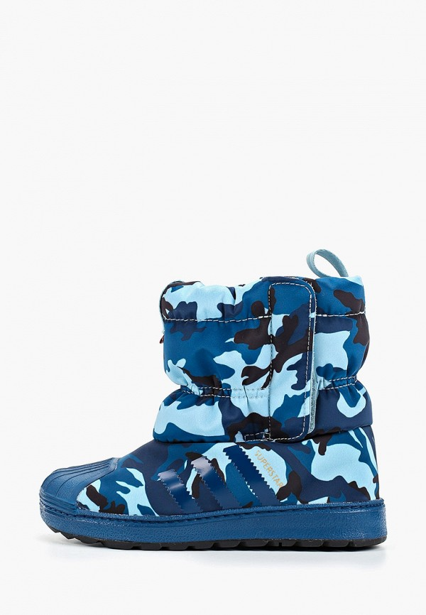 сапоги adidas для мальчика, синие