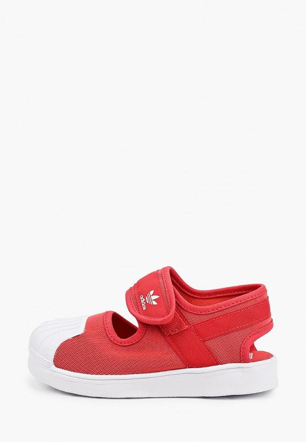 туфли adidas малыши, красные
