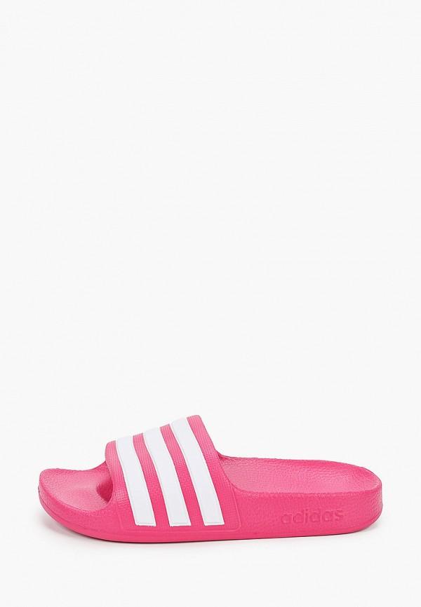 сланцы adidas малыши, розовые