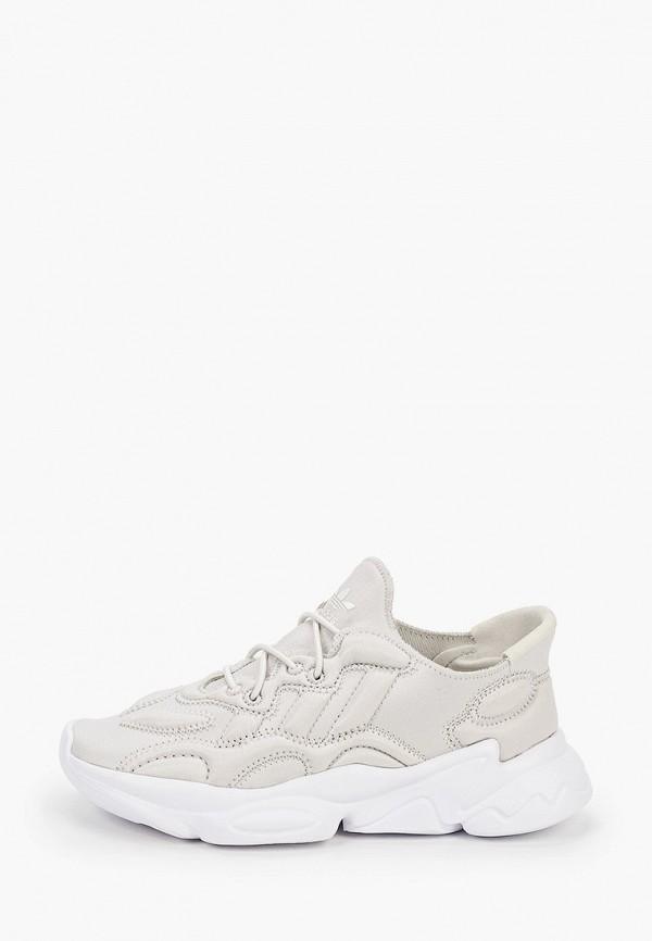 кроссовки adidas малыши, бежевые
