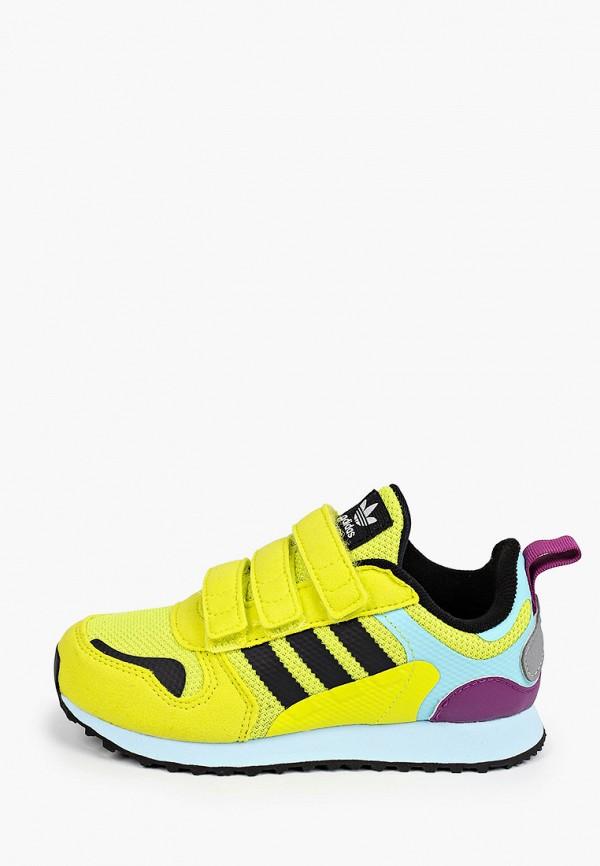 кроссовки adidas малыши, желтые