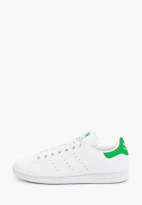 кеды adidas малыши, белые
