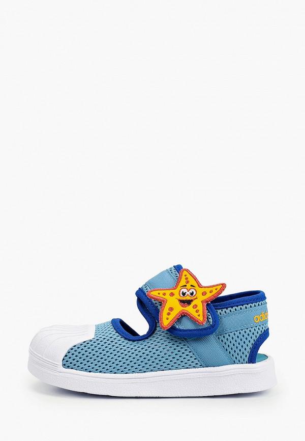 сандалии adidas малыши, бирюзовые