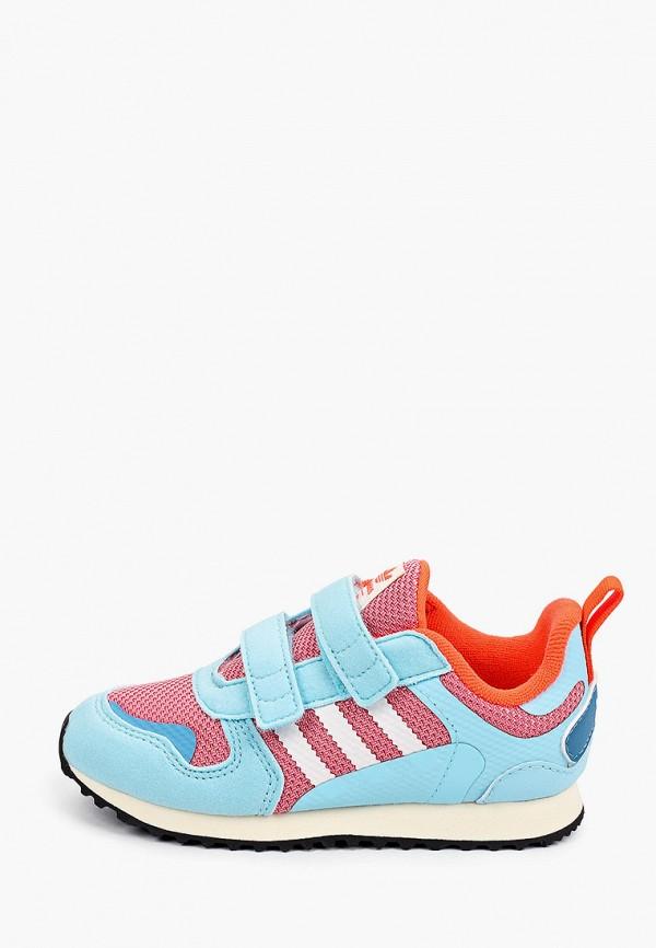 кроссовки adidas малыши, голубые