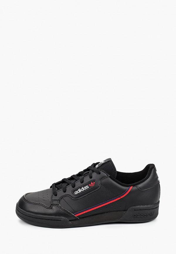 кеды adidas малыши, черные