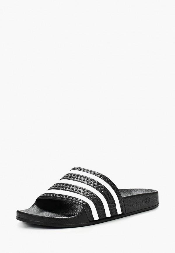 Купить Сланцы adidas Originals, adidas Originals AD093AMBJU33, черный, Осень-зима 2018/2019