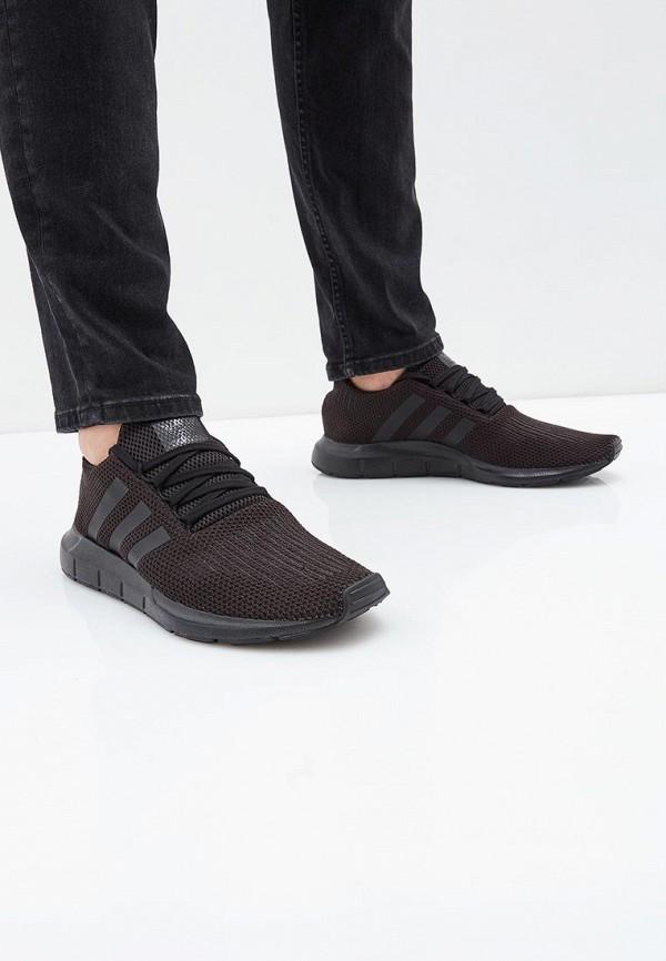 Фото 5 - мужские кроссовки adidas Originals черного цвета