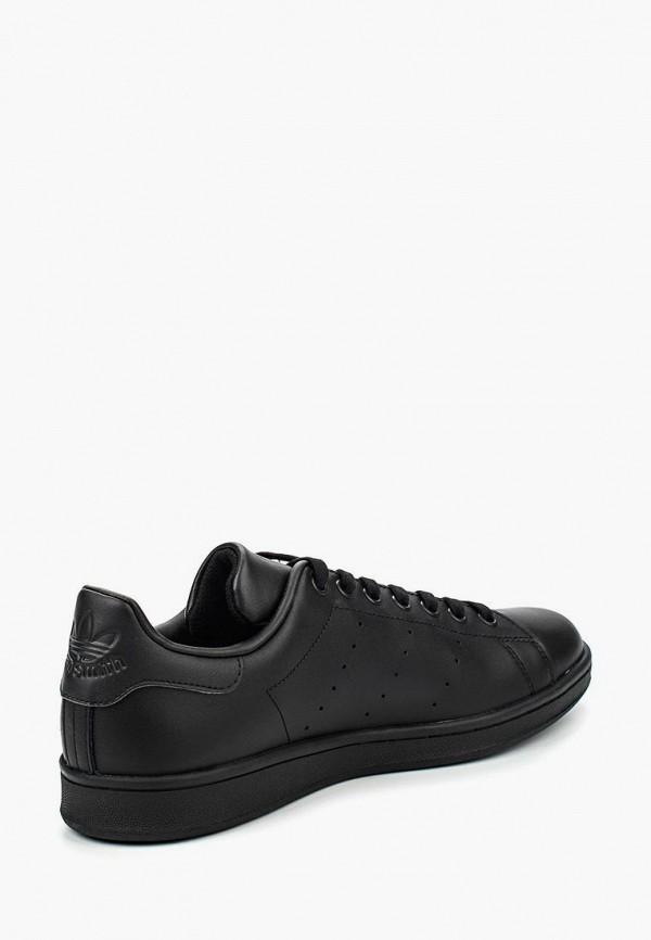 Фото 2 - мужские кеды adidas Originals черного цвета