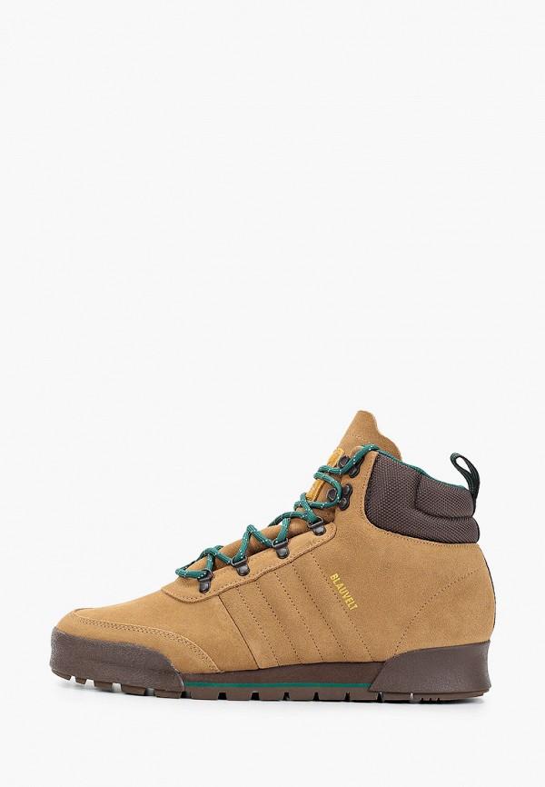 мужские высокие ботинки adidas, коричневые
