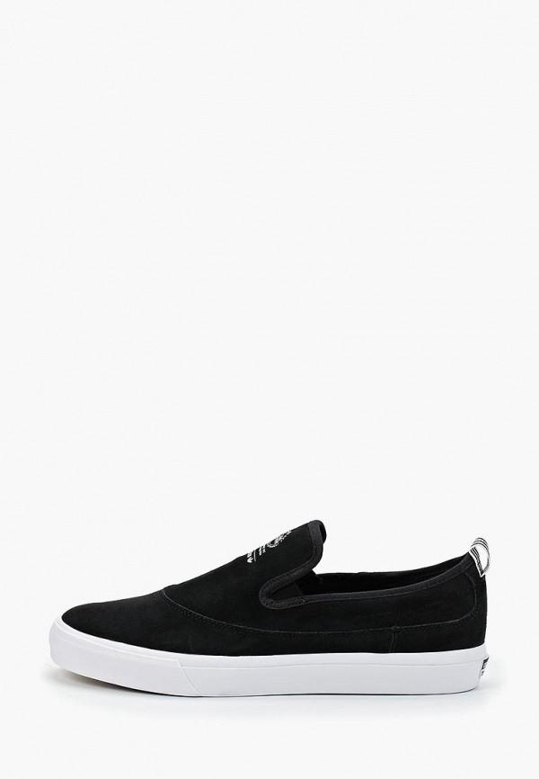 мужские слипоны adidas, черные