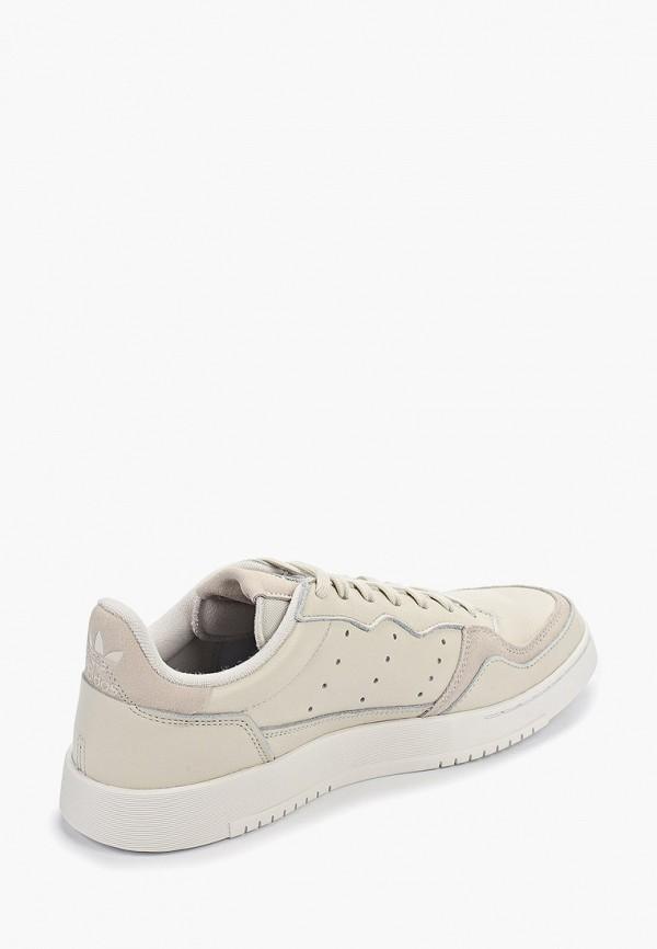 Фото 3 - мужские кеды adidas Originals бежевого цвета