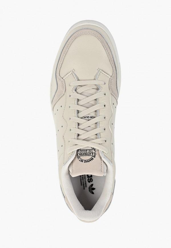 Фото 4 - мужские кеды adidas Originals бежевого цвета